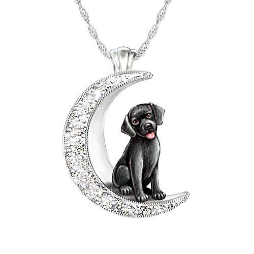 Mein treuer Labrador – Silberplattierter Hunde-Anhänger