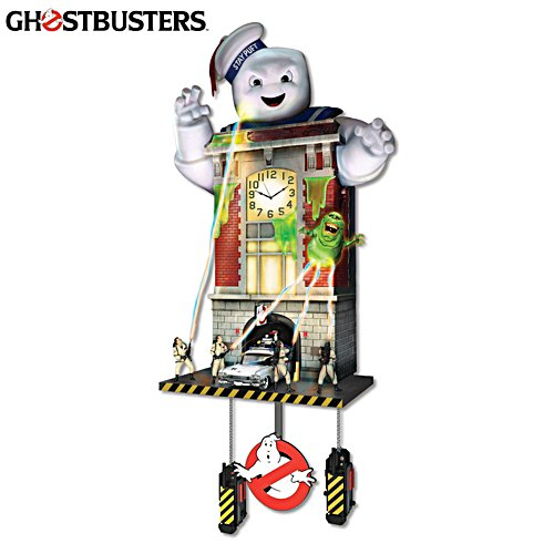 Ghostbusters™ Illuminated Musical Wall Clock