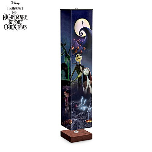 Disney Tim Burton The Nightmare Before Christmas 'Halloween Town' Floor Lamp
