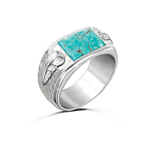 'Sedona Canyon' Men's Turquoise Ring