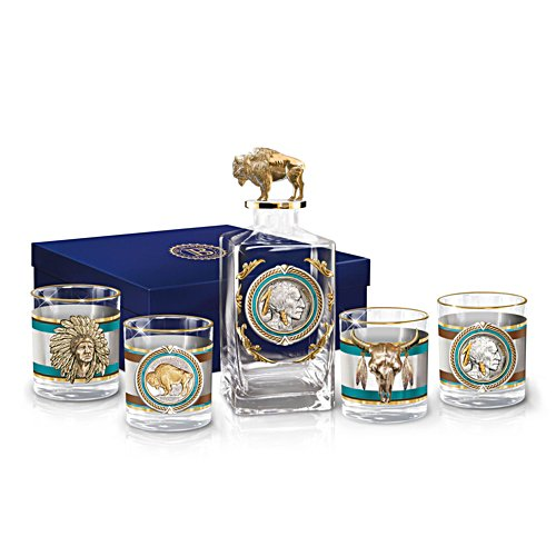 'Pride Of The West' Decanter Set