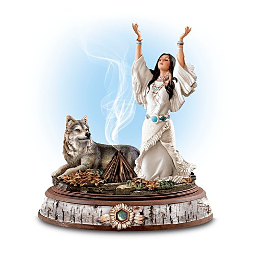 'Guiding Spirits' Sculptural Incense Burner With Incense