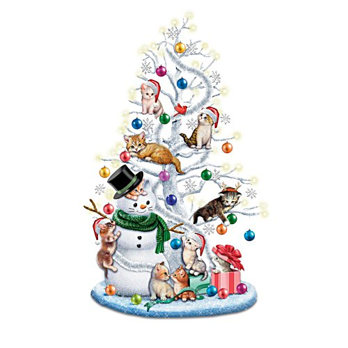 Jürgen Scholz 'Jingle Cats' Tabletop Christmas Tree