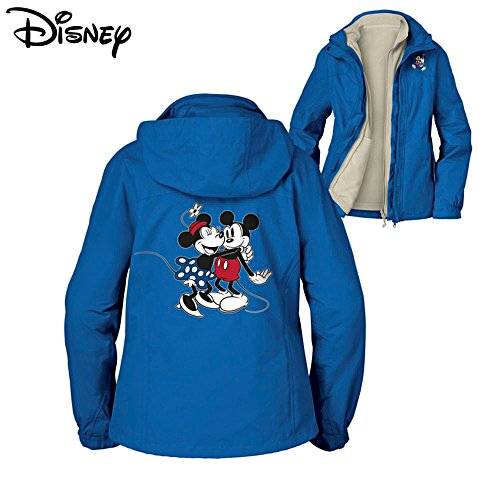 Disney 'Happy In Love' Mickey Mouse & Minnie Mouse 3-in-1 Ladies' Convertible Jacket