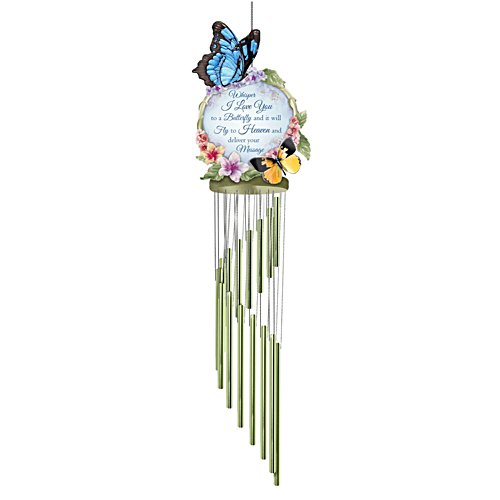 'Messenger In Heaven' Butterfly Wind Chime