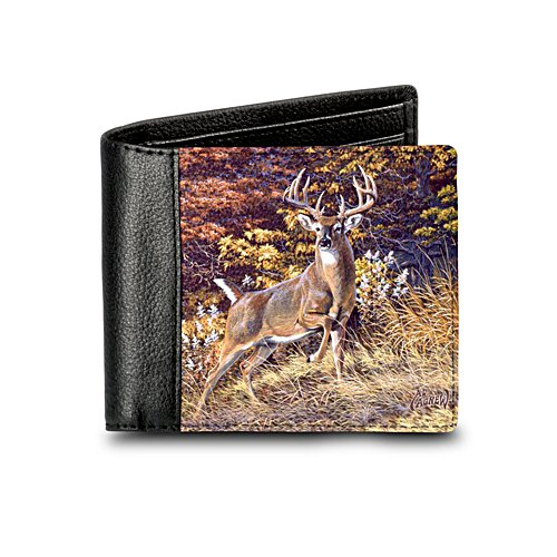 'Prince Of The Forest' Deer Leather Wallet