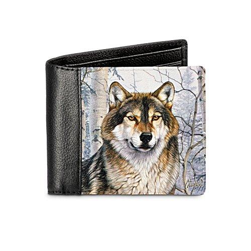'Wild Wolf' Men's Wallet