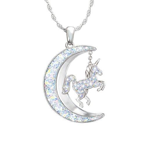 'Believe In Magic' Unicorn Ladies' Pendant