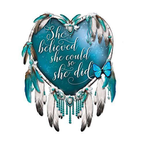 'She Believed She Could So She Did' Wall Décor