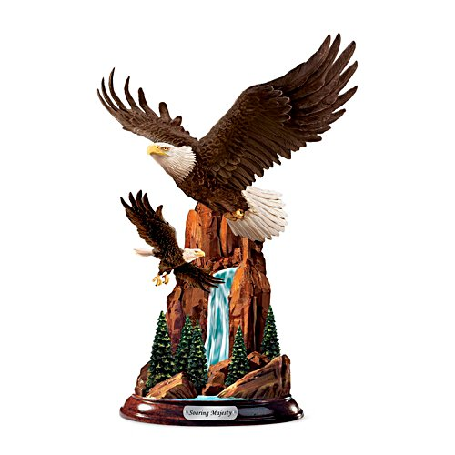 'Soaring Summit' Eagle Sculpture