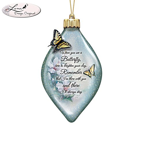 Lena Liu 'Always Remember' Illuminating Heirloom Glass Ornament