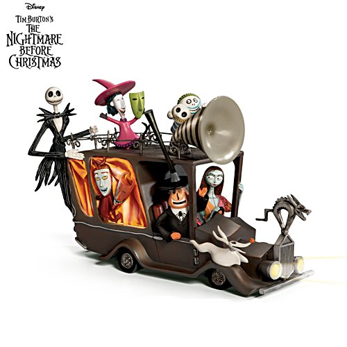 The Nightmare Before Christmas Mayor's Car Sculpture