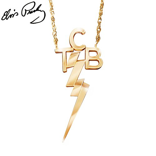 Elvis Presley™ 'Taking Care Of Business' Ladies' Necklace