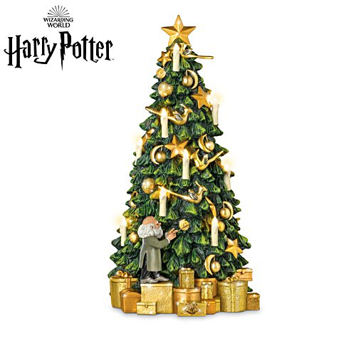 HARRY POTTER™ HOGWARTS™ Tabletop Christmas Tree