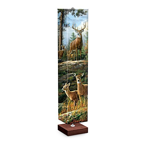 'Graceful Grandeur' Deer Floor Lamp