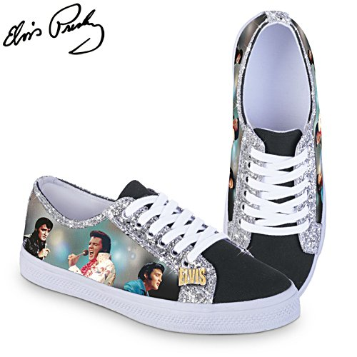 Elvis™  Ladies' Canvas Shoes