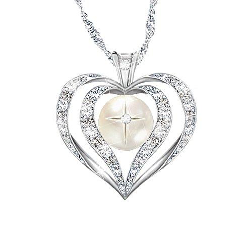 'Wisdom Of Faith' Topaz And Diamond Ladies' Pendant
