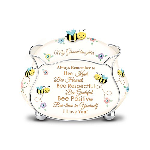 'My Granddaughter, I Bee-Lieve In You' Music Box