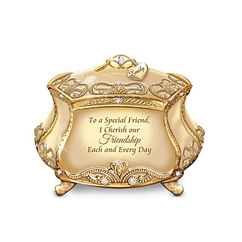 'My Special Friend' Personalised Heirloom Porcelain® Music Box