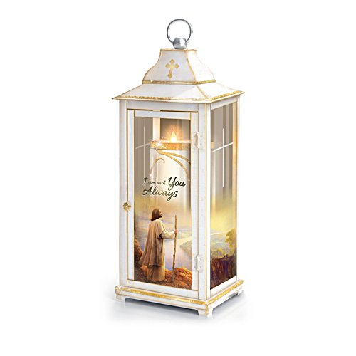Greg Olsen 'I Am Always With You' Faith Lantern