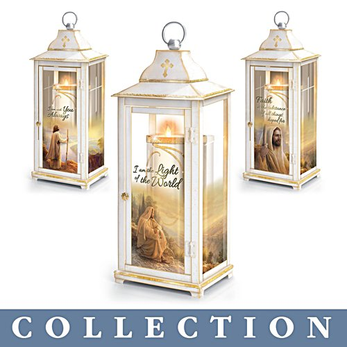Greg Olsen 'Light Of Blessings' Lantern Collection