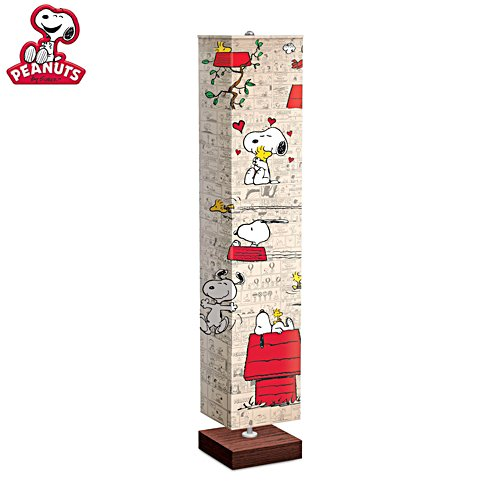 'PEANUTS® Snoopy & Woodstock' Floor Lamp