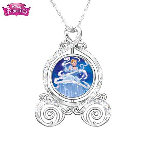 Disney Cinderella 'Dreams Come True' Ladies' Pendant