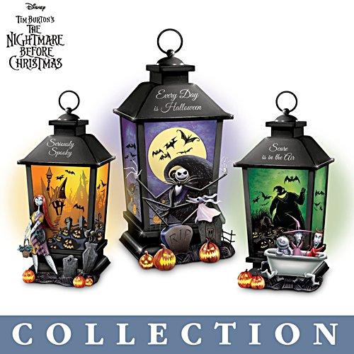 Disney Tim Burton's The Nightmare Before Christmas Lantern Collection