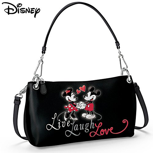 Disney 'Live, Laugh, Love' Ladies' 3-Style Handbag