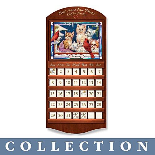 Jürgen Scholz 'Curious Kittens' Perpetual Calendar Collection