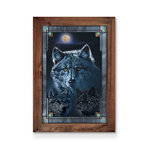 'Souls Of The Night' Wolf Wall Décor