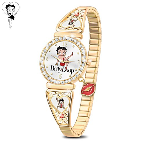 Betty Boop™ 'Kick Up Your Heels' Ladies' Watch