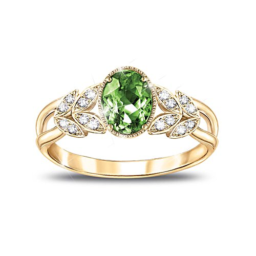 'Splendour Of Nature' Helenite Ladies' Ring