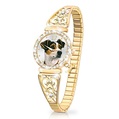 'Forever Faithful' Jack Russell Ladies' Watch