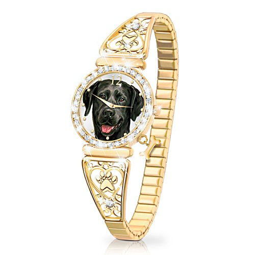 'Forever Faithful' Black Labrador Ladies' Watch