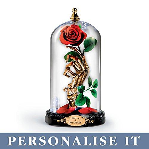 'Till Death Do Us Part' Illuminated Personalised Rose Jar