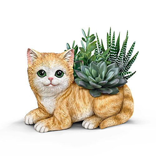Katzen-Gärtner — Figurine