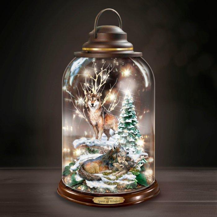 Geest Van De Winter Decoratie Lantaarn