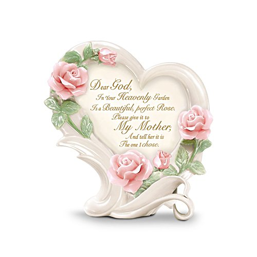 'Roses In Heaven' Mother Heirloom Porcelain® Sculpture
