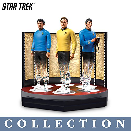 STAR TREK™ 'To Boldly Go' Transporter Figurine Collection