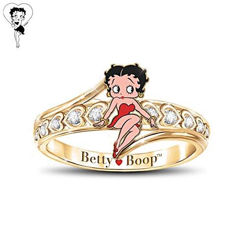 Betty Boop™ 'Queen Of Class' Ladies' Ring