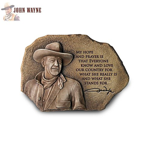 'My Hope And Prayer' John Wayne Wall Décor