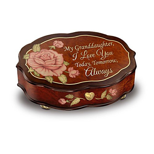 'Love You Always' Granddaughter Music Box