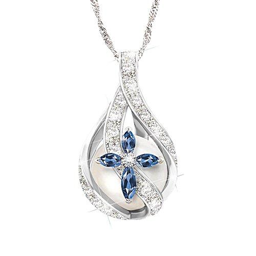 'God's Loving Embrace' Ladies' Diamond Pendant