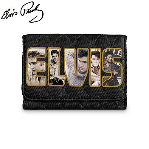 Elvis Presley™ Quilted Tri-Fold Wallet