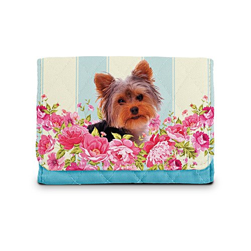 'Playful Pup Yorkie' Ladies' Wallet