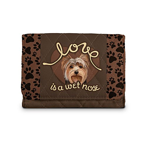 'Love Is A Wet Nose' Yorkie Ladies' Wallet