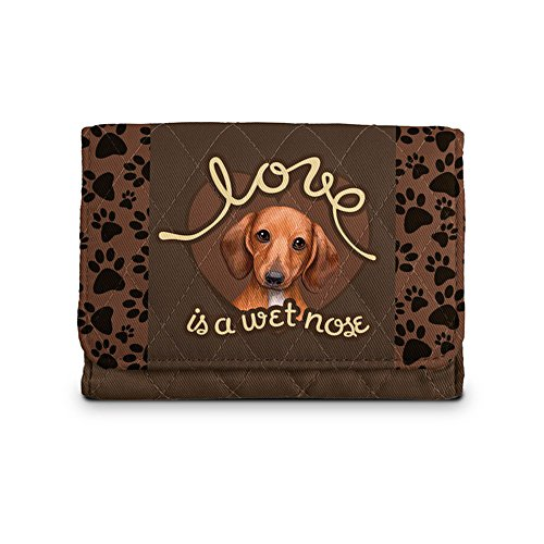 'Love Is A Wet Nose' Dachshund Ladies' Wallet
