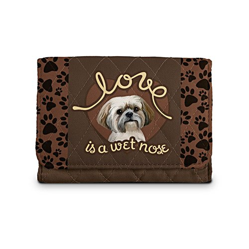 'Love Is A Wet Nose' Shih Tzu Ladies' Wallet