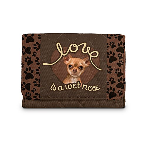 'Love Is A Wet Nose' Chihuahua Ladies' Wallet